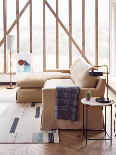 Clarke Fabric Sectional Sofa Living Room: Arlo & Jacob And House & Garden New Sofas