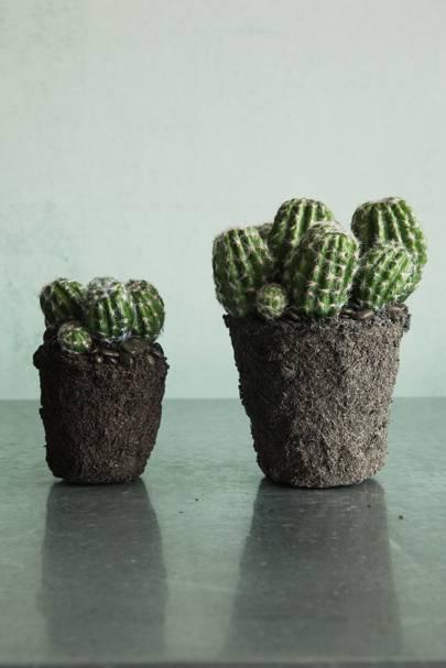 16. Faux Floral Cactus