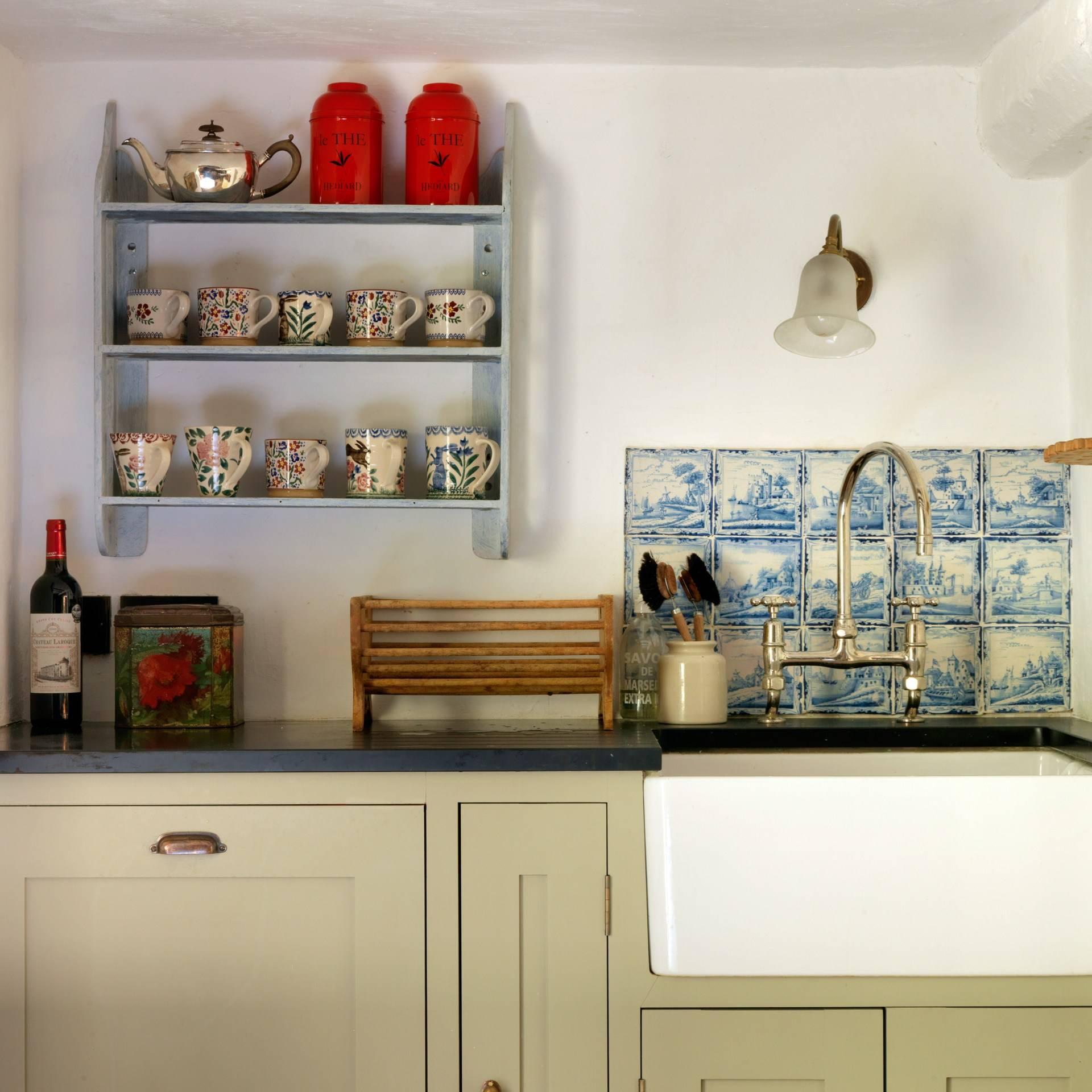 Country Cottage Kitchen In Cream Design Ideas Images House Garden