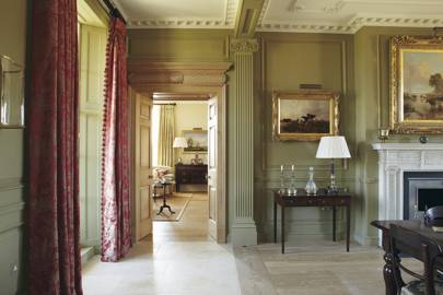 Bath Country House Hall - Emma Sims Hilditch