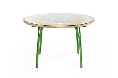 Green Dining Table