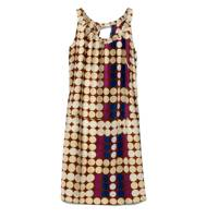 Polka Dot Silk Dress