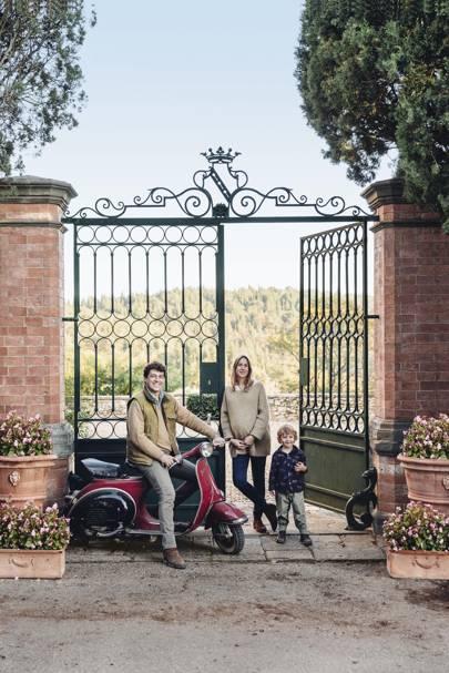 The idyllic Tuscan vineyard of Petersham Nurseries' Lara Boglione and her husband, winemaker Giovanni Mazzei