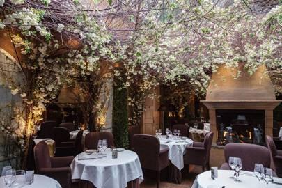 Romantic Restaurants London House Garden