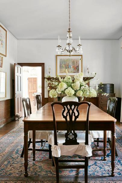 Table Chairs Oak Furniture Traditional | Dining Room Design Ideas