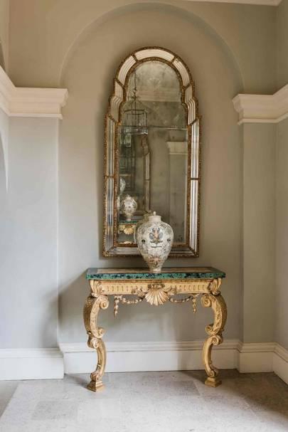 Alcove Mirror - Newbuild Jacobean-style Manor