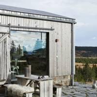 Modern Cabin Exterior - Scandinavian Interiors | Interior Design Ideas