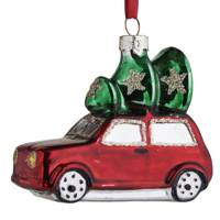 Alpine Home Glass Car and Tree Bauble, £2 from Wilko