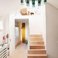 Minimal Hallway Modern Chandelier