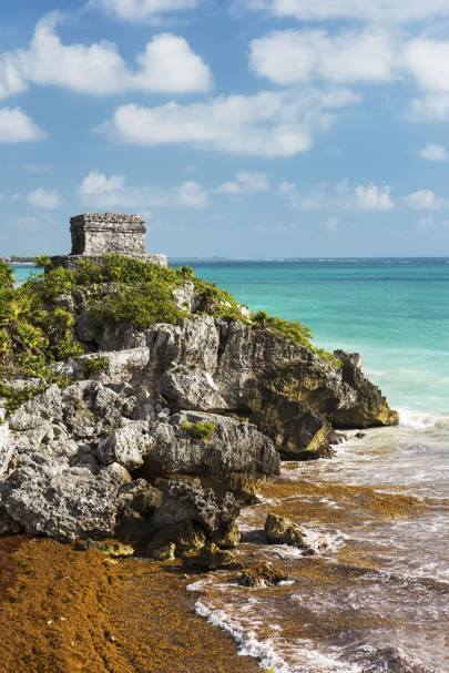 El Castillo Beach, Tulum, Mexico