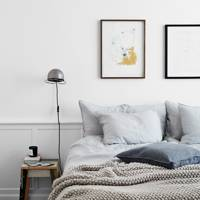 White Scandi Bedroom