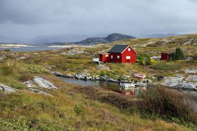 Norwegian Fishing Cabin