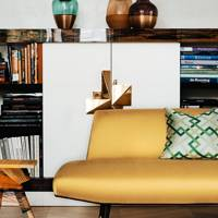 Study Sofa - At Home: Maddux Creative London House