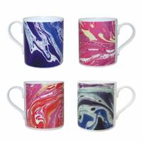 October 31: Erskine Rose Marbled Mug Set, £85