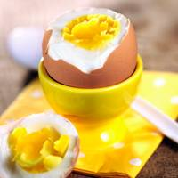 1 Hard-Boiled Egg = 78Kcals