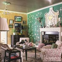 Living Room -  Madcap Cottage Bright Pattern House