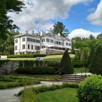 Edith Wharton's home, The Mount, Lenox, Massachusetts, USA