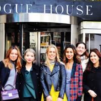 Students visit Vogue