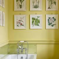 Yellow Bathroom Paint