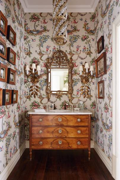Antique Drawers with Basin