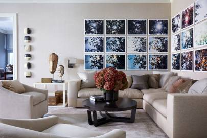 Living Room - Modern Park Avenue Apartment