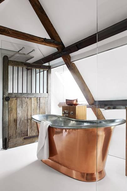 Copper Bath - Cotswolds Barn