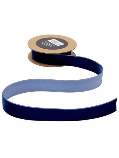 Velvet Ribbon, 3m, Navy, £4.25, John Lewis & Partners