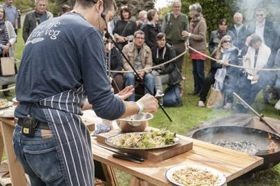 Abergavenny Food Festival, Wales, September