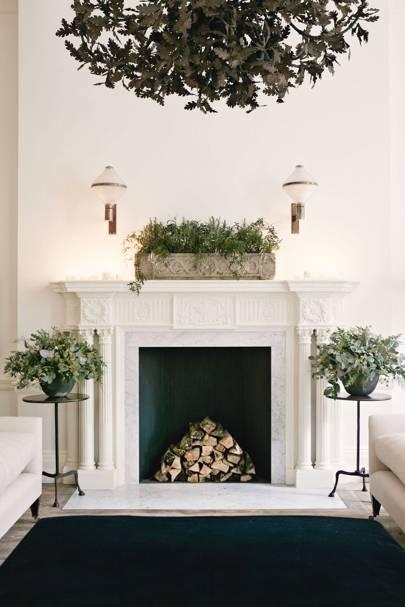 White Christmas Decorations | House & Garden
