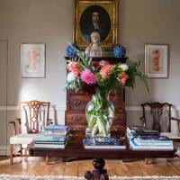 Drawing Room Table - Newbuild Jacobean-style Manor