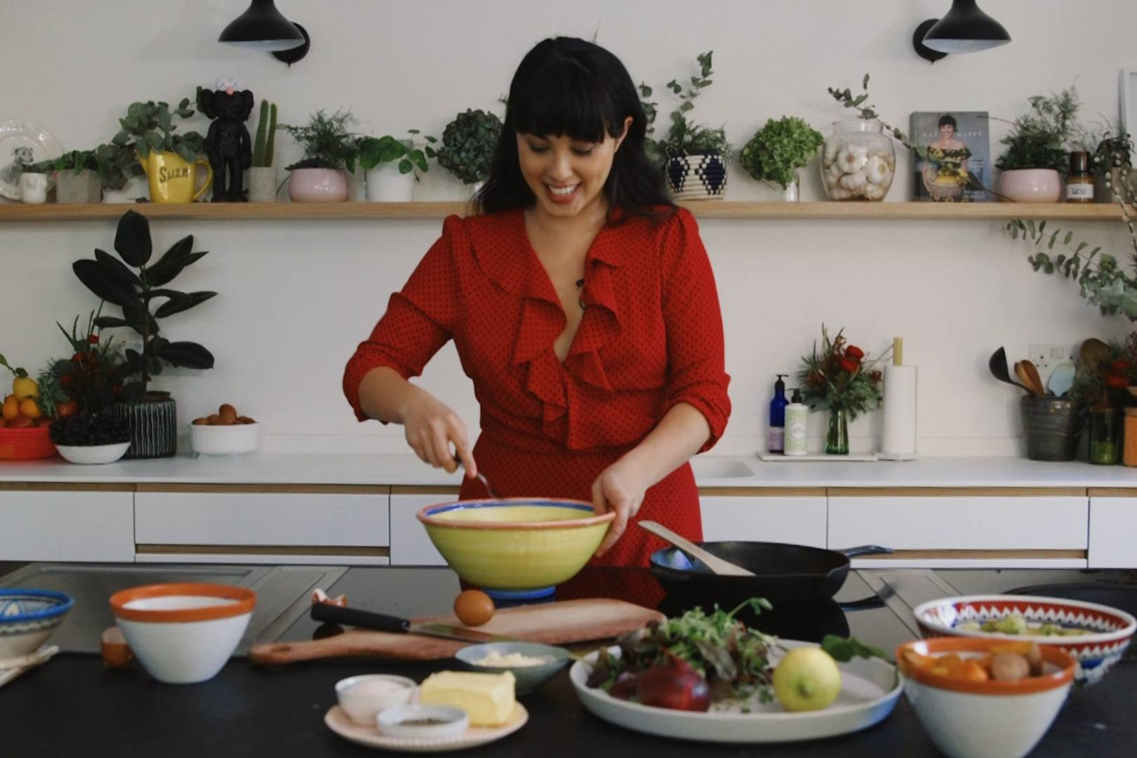 Melissa Hemsley's easy Brussel sprout fritters