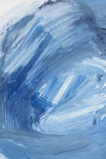 'Ice' by Howard Hodgkin