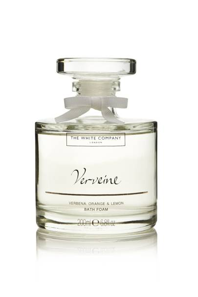 January 20: The White Company Verveine Bath Decanter, £18