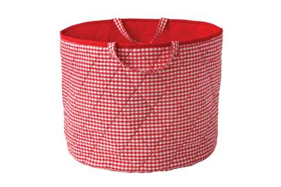 July 23: Gingham Toy Basket, £39, from Kiddiewinkles