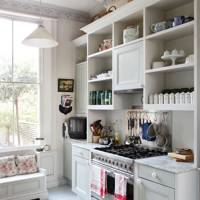 Lucia Van der Post's kitchen Ikea hack
