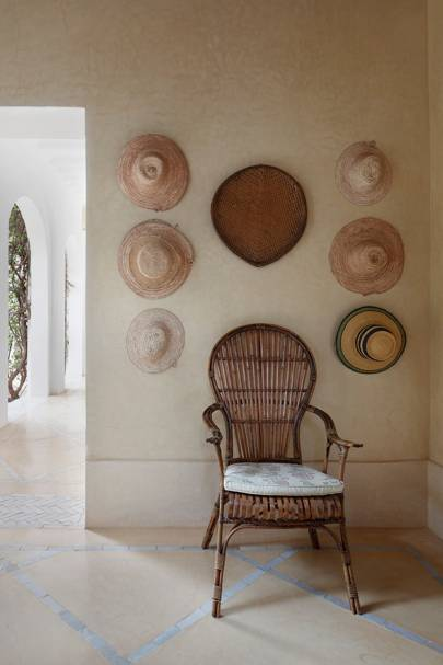 Hanging Hats - Moroccan House