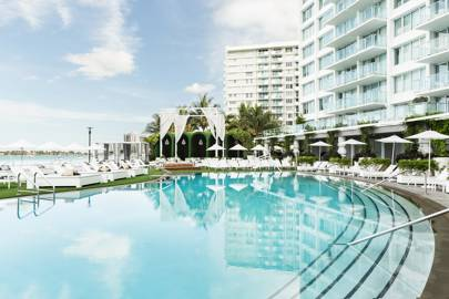 If you're committing to fitness: Mondrian South Beach - Miami, Florida