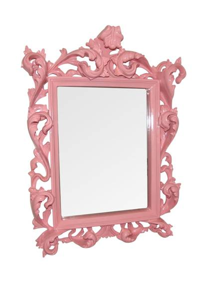 Pink French Shabby Chic Mirror