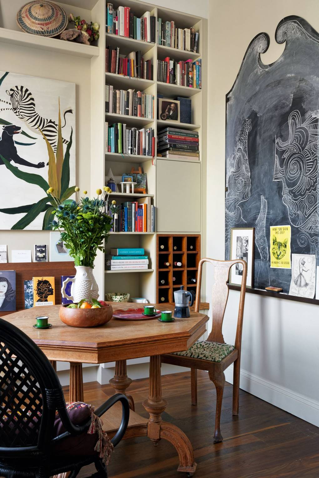 Beata Heuman's small London flat | House & Garden