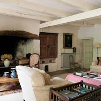 Rustic French Living Room