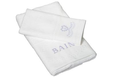 December 10: Cologne & Cotton Odette Hand and Guest Towel Set, £24