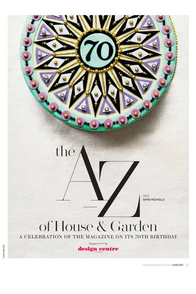 The A-Z of House & Garden