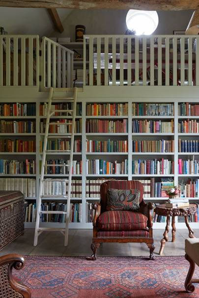 Book Mezzanine - Emma Burns Garden Barn