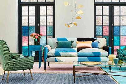 Three Shoppable Boldly Patterned Living Rooms Curated By