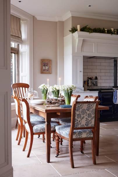 Former House & Garden retail editor Carole Annett's home