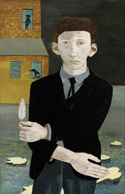 Lucian Freud: the self-portraits, until January 26