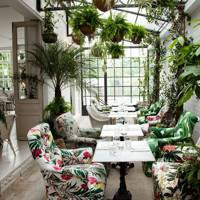 The garden room at B&H Buildings, Clerkenwell