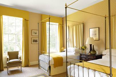 Yellow Bedroom Window