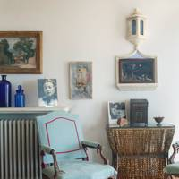 Blue Armchair -  A House in the South of France