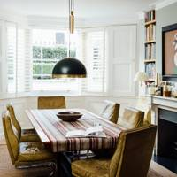 Dining Room with Car Seats